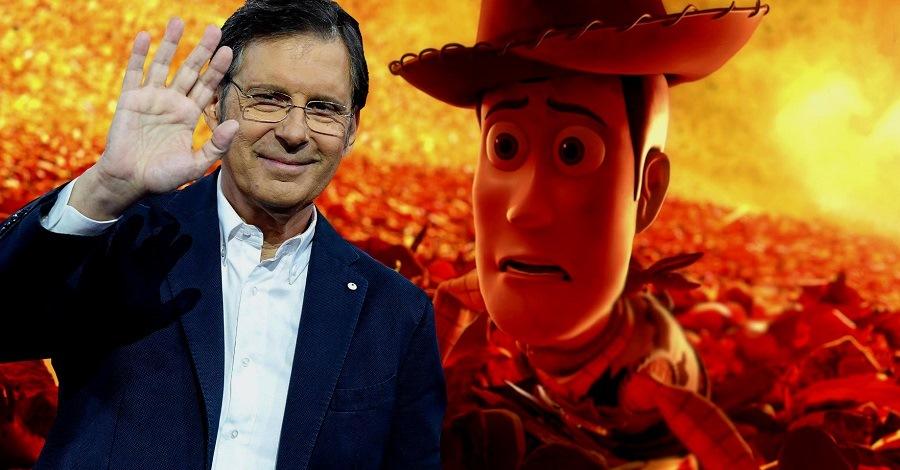 Fabrizio Frizzi è stato la voce di Woody in Toy Story