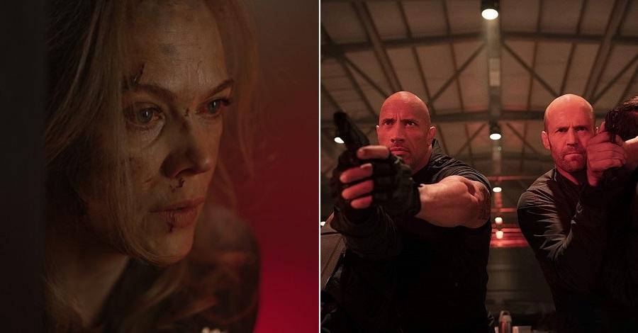 Due scene tratte dai film The Quake e Hobbs & Shaw