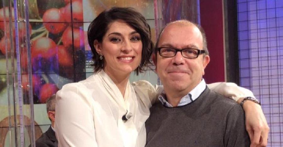 Casimiro Lieto con Elisa Isoardi
