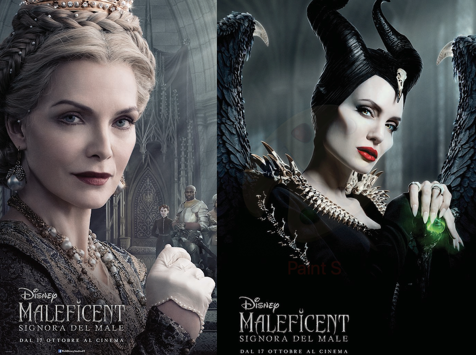michelle pfeiffer e angelina jolie in maleficent