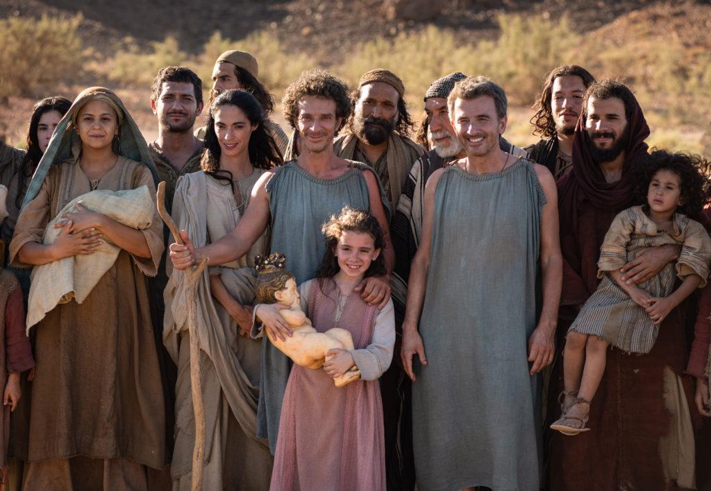 Il cast del film Il primo Natale