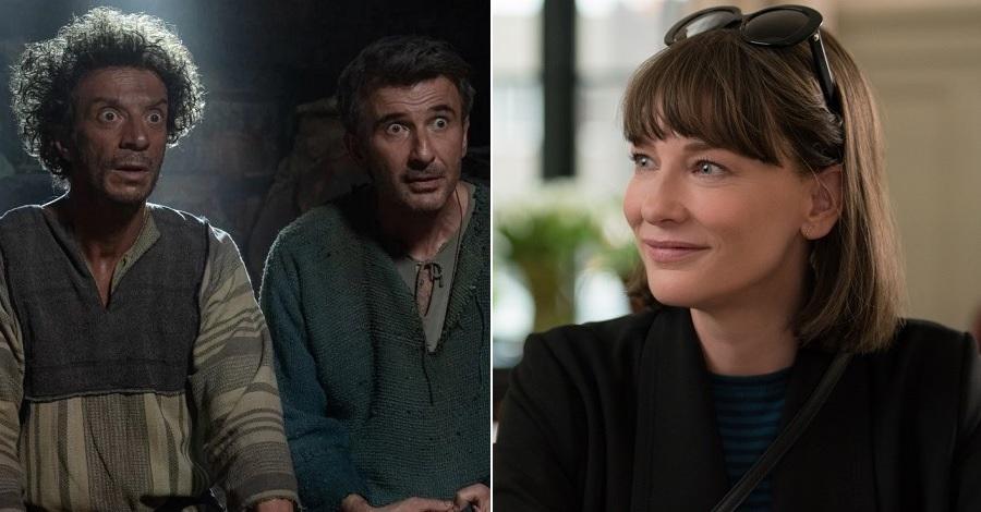I primi piani di Ficarra e Picone e Cate Blanchett