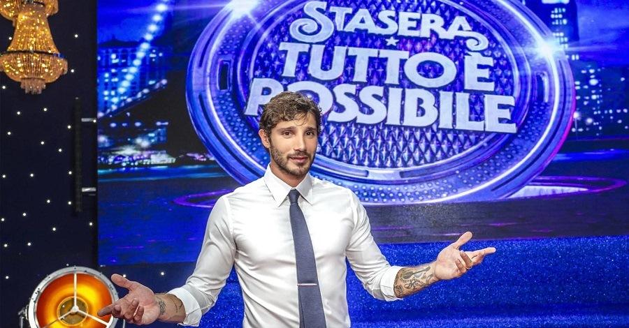 Stefano De Martino a Stasera tutto è possibile