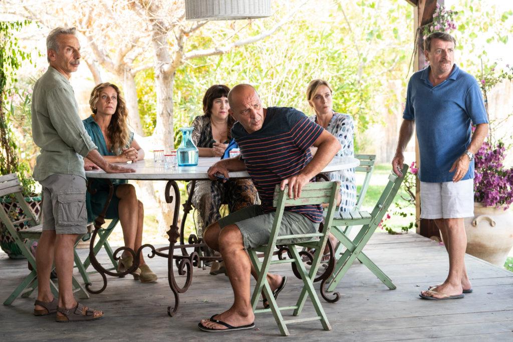 Il cast del film Odio l'estate