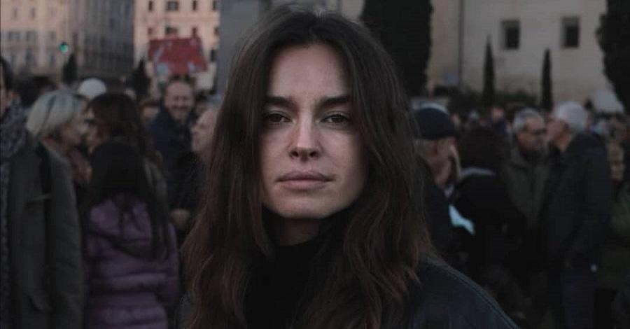Un primo piano di Kasia Smutniak