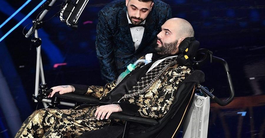 Paolo Palumbo e il fratello Rosario a Sanremo 2020