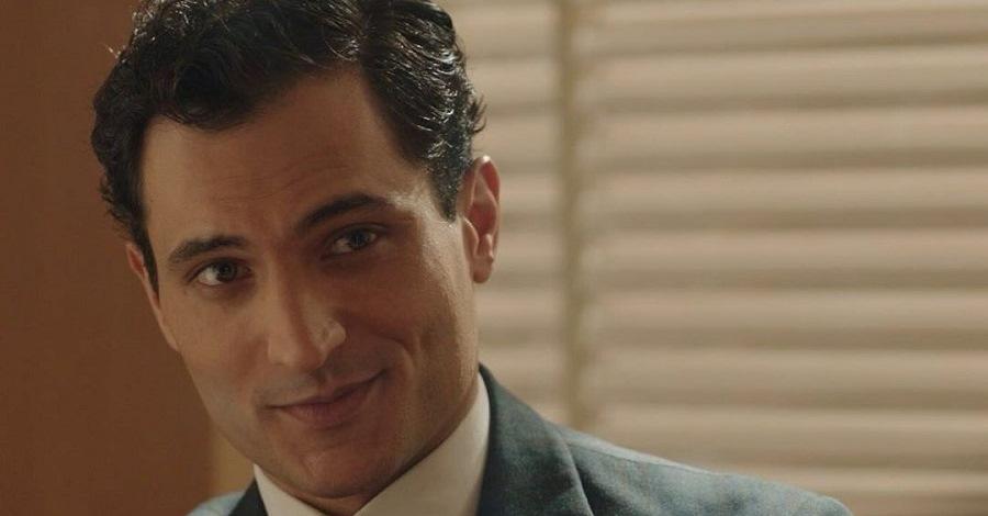 Alessandro Tersigni in una scena della soap Il Paradiso delle Signore
