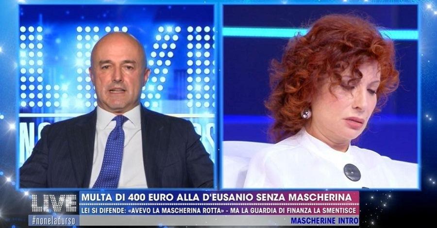 Gianluigi Nuzzi e Alda D'Eusanio a Live - Non è la D'Urso