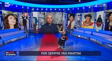 Olivia Bertè ricorda Mia Martini a La vita in diretta