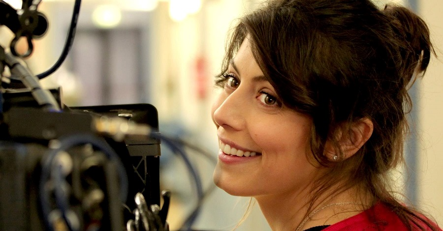 Alessandra Mastronardi sul set della fiction L'allieva