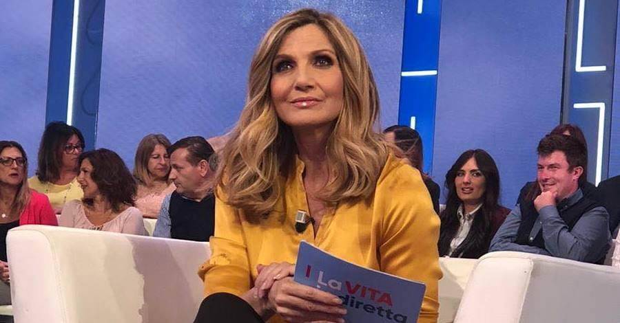 Lorella Cuccarini a La vita in diretta