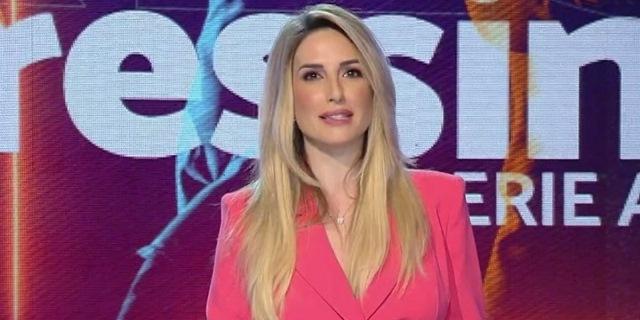 Giorgia Rossi negli studi di Pressing Serie A, confermato nei palinsesti Mediaset 2020/2021