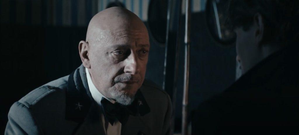 Sergio Castellitto è Gabriele D'Annunzio nel film Il cattivo poeta