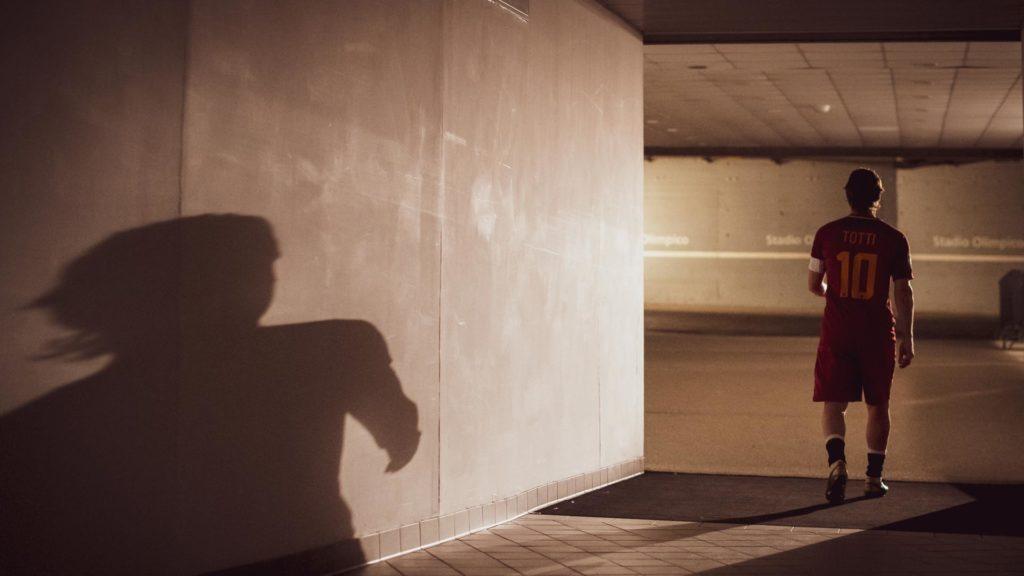 Una scena del film Mi chiamo Francesco Totti