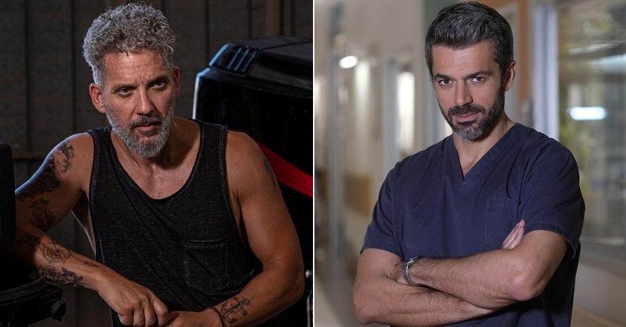 Beppe Fiorello contro Luca Argentero nelle serie tv Gli orologi del diavolo e Doc - Nelle tue mani