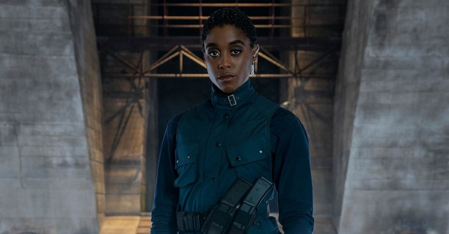 Lashana Lynch è la nuova 007 nera in una scena del film No Time to Die