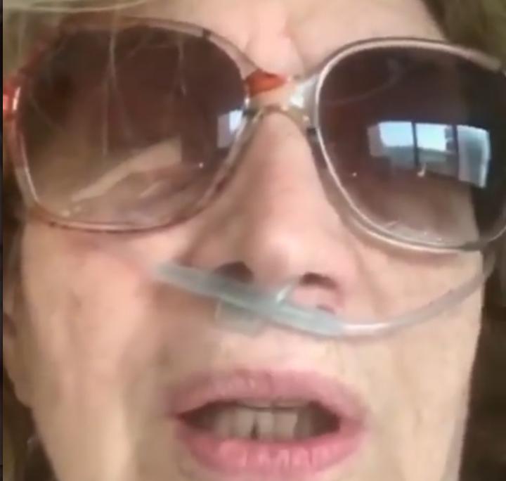iva zanicchi dall'ospedale