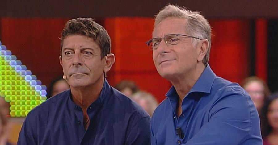 Luca Laurenti e Paolo Bonolis a Avanti un altro