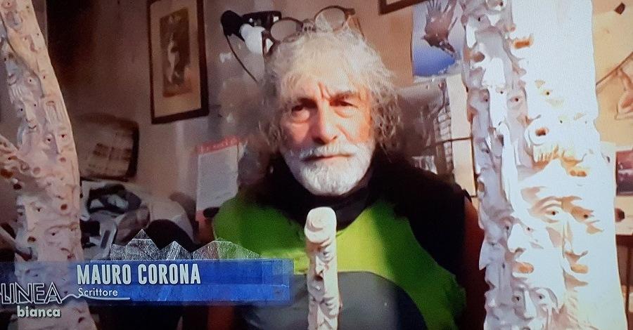 Mauro Corona a Linea Bianca