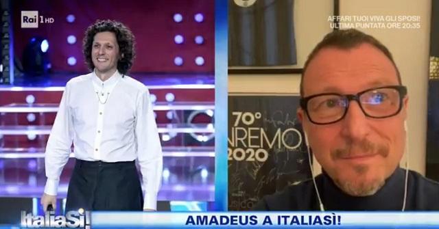 Amadeus a ItaliaSì!