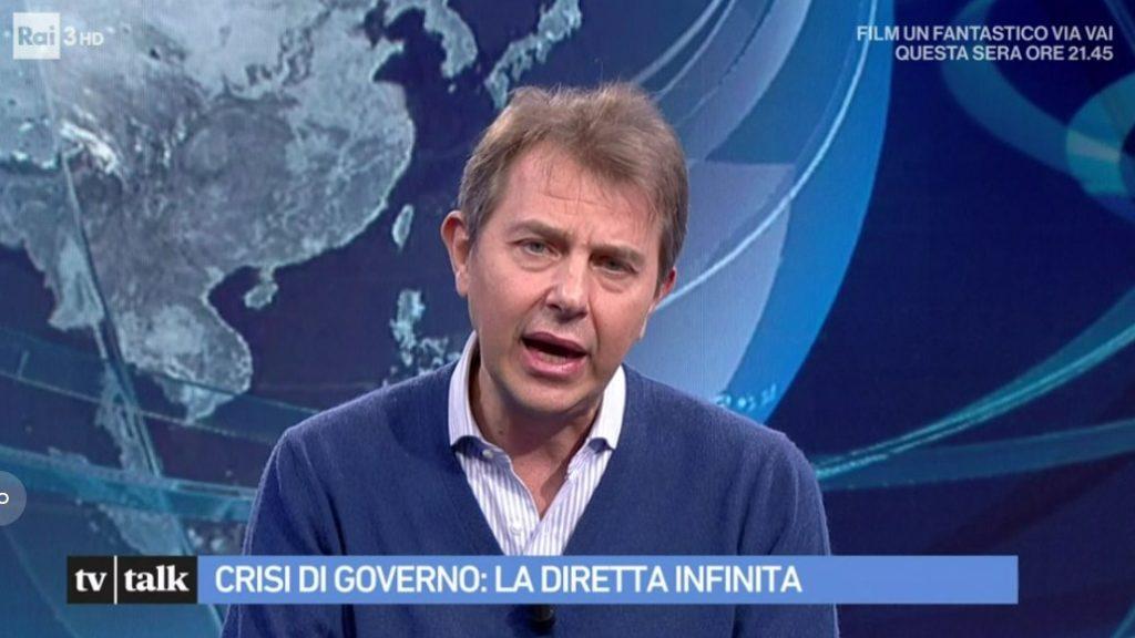 Francesco Giorgino ospite a Tv Talk