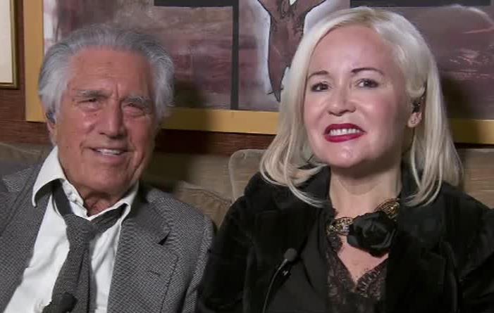 Lando Buzzanca e la compagna Francesca Della Valle