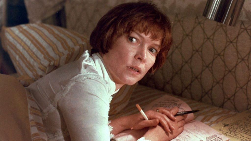 Ellen Burstyn in una scena del film L'esorcista
