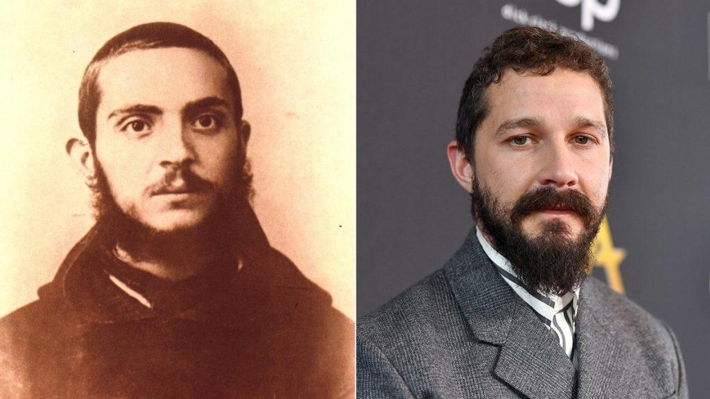 Padre Pio da giovane e Shia LaBeouf