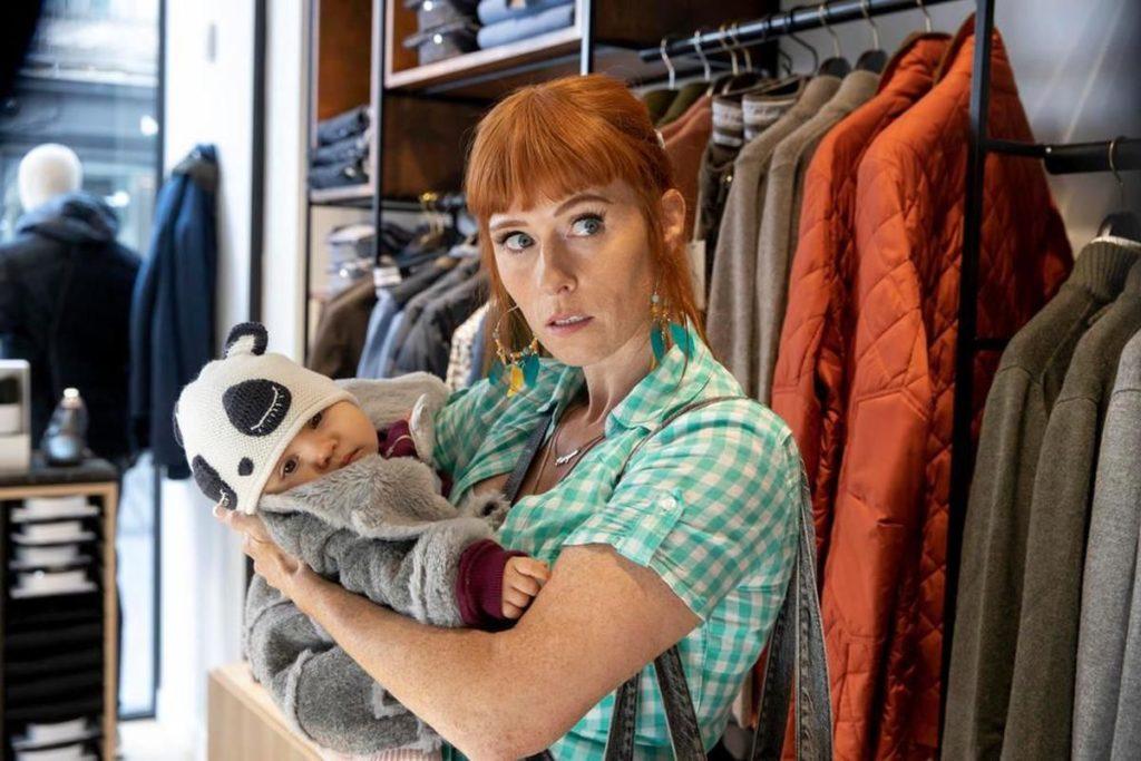 Audrey Fleurot in una scena della serie Morgane - Detective geniale
