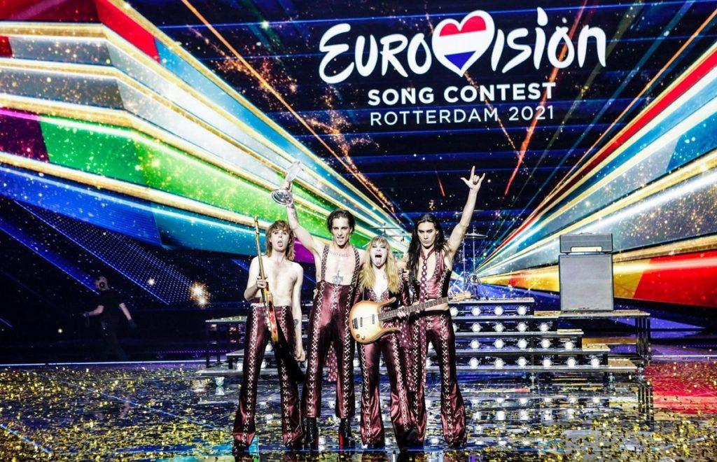 I Måneskin trionfano all'Eurovision 2021